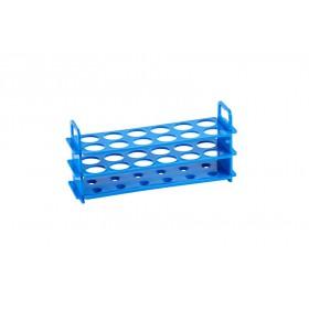 Statyw na probówki wirówkowe 15 ml, niebieski