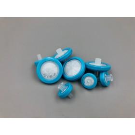 Filtry strzykawkowe, membrana z regenerowanej celulozy (RC), średnica 25 mm, średnica porów 0,45 μm