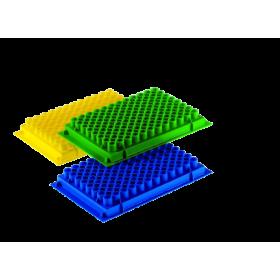 Statywy na probówki PCR, żółte