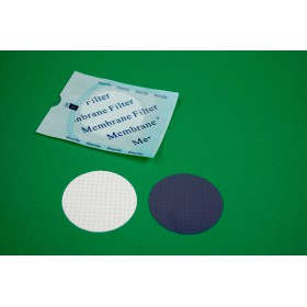 Sterylne filtry membranowe z mieszanych estrów celulozy - 100szt.